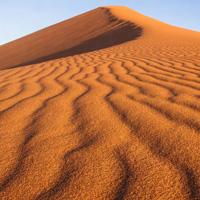 一片茫茫的沙漠,沙丘风光图片