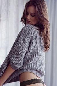 欧美美女丁字裤写真