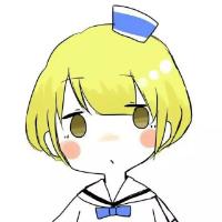 动画呆萌女生qq头像 萌萌哒小可爱