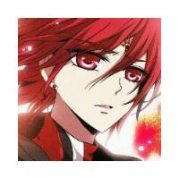 动漫男生高颜值卡通qq头像 高冷的红发少年