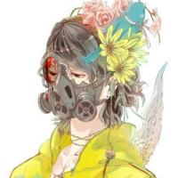 戴面具口罩男生卡通qq头像 冷心冷血冷感情