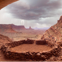 唯美意境自然沙漠风景图片