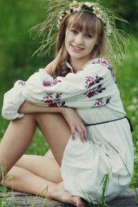 清纯俄罗斯美女甜美可爱写真