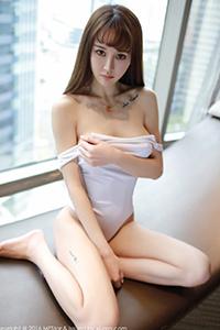 [秀人·模范学院]丁字裤美女Cheryl青树半裸诱惑写真