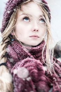俄罗斯成熟美女寒冬生活照片写真