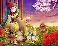 日本动漫初音未来美女图片大全