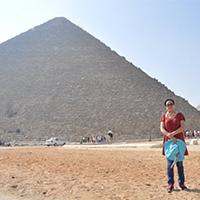 另类建筑金字塔唯美风景旅游图片