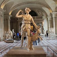 法国卢浮宫建筑艺术展图片欣赏