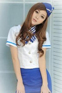 性感美女空姐制服诱惑图片