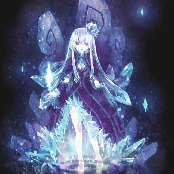 黑暗系梦幻动漫人物图片