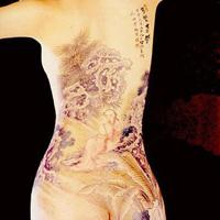 人体彩绘纹身