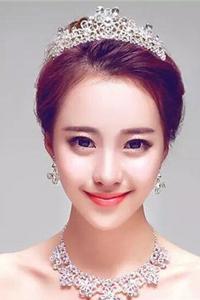 明星新娘发型