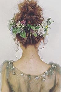 新娘短发发型图片