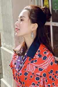 日系新娘发型