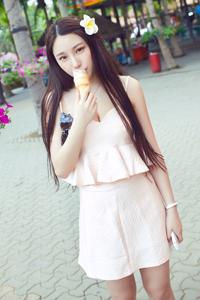 中国清纯模特刘奕宁迷人高清生活照