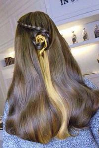 水波浪发型