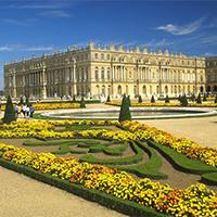 法国凡尔赛宫建筑风景图片