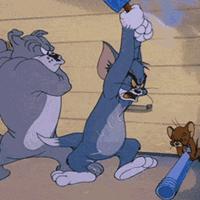 动漫猫和老鼠动态图片