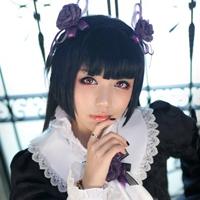 黑猫萌的日本萝莉cosplay
