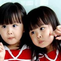 萌妹子双胞胎小清新姐妹头像一对