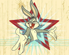 兔八哥手绘壁纸精美图片