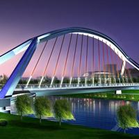 清新风格桥的图片大全集