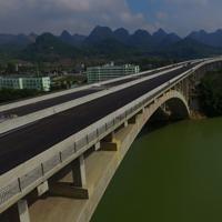 唯美气势磅礴大桥图片