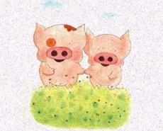 小猪麦兜有爱图片欣赏