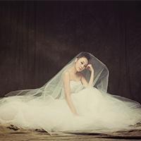 婚纱礼服时尚复古新娘图片
