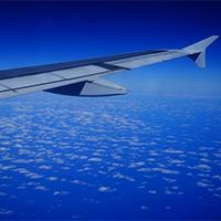 航空下蓝天白云风景唯美图片