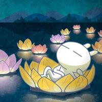 中国风卡通兔斯基图片下载