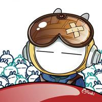 桌面卡通搞笑兔斯基图片