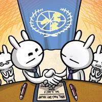模拟联合国兔斯基搞笑图片