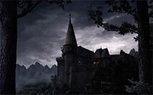 魔幻城堡科幻风格壁纸