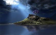 高清图片壁纸科幻山水风景图片
