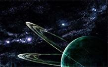 神秘震撼的科幻星空壁纸图片