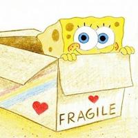 手绘海绵宝宝可爱卡通图片