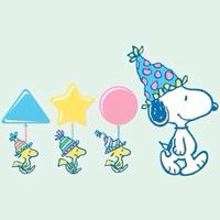 史努比狗狗可爱卡通图片