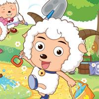 喜羊羊图片可爱卡通壁纸
