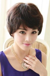女短发发型设计图片
