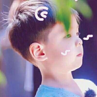 时尚男孩白净可爱头像