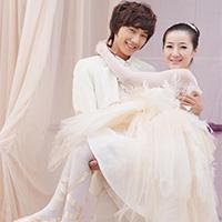 情侣韩国婚纱礼服图片欣赏
