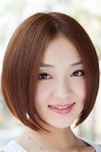 中年短发烫发发型