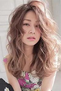 长发卷发发型图片