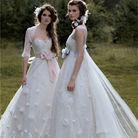 最美婚纱礼服图片 用尽一生换你笑颜