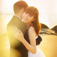 幸福唯美情侣头像 我的心里只有你