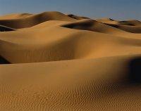 无边无际的沙漠风景图片