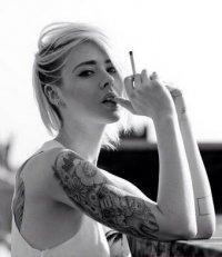 欧美非主流美女刺青图集