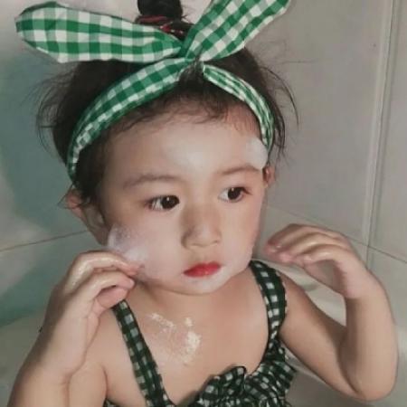 萌妹子qq可爱头像 小女孩的天真
