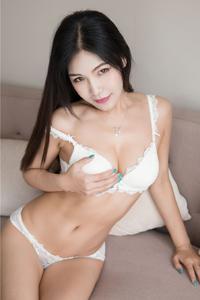[秀人·魅妍社]中国内衣美女模特丁筱南邪魅大胆